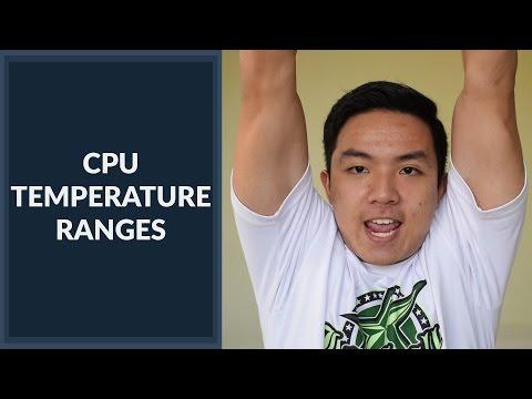 Ideal CPU Temperature Ranges