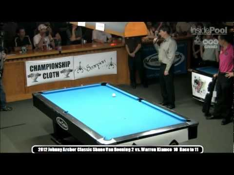 Johnny Archer Classic 2012 Finals Warren Kiamco vs. Shane Van Boening