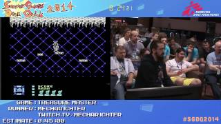 Summer Games Done Quick 2014 - Part 48 - Treasure Master