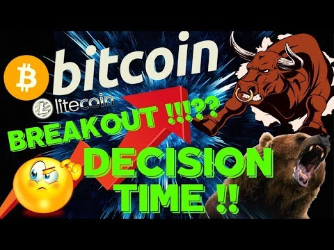 🌟BITCOIN DECISION TIME (BREAKOUT??)🌟bitcoin Litecoin Price Prediction, Analysis, News, Trading