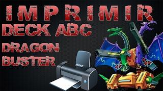 IMPRIMIR CARTAS DE YUGIOH - DECK ABC Dragon buster