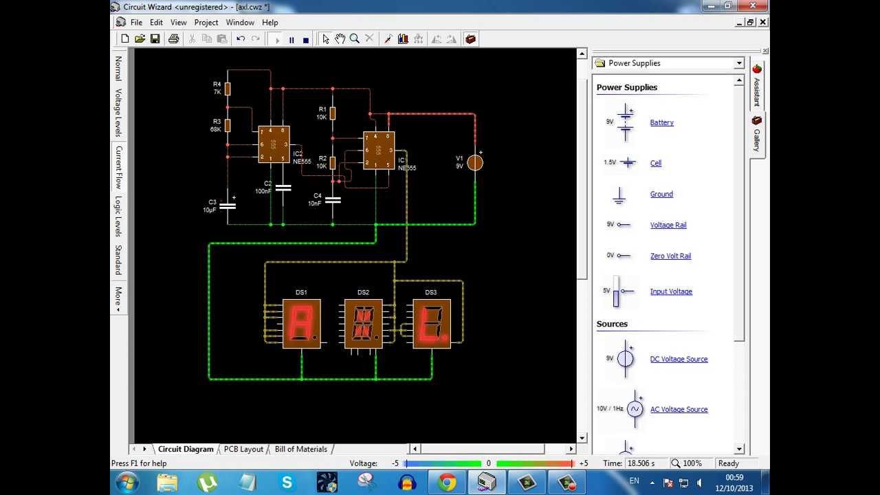 7 16 Segment Displays Letters Youtube Seven Display Circuit Diagram Further Matrix Led