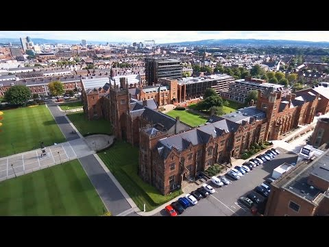 From the Air - Queen's University Belfast