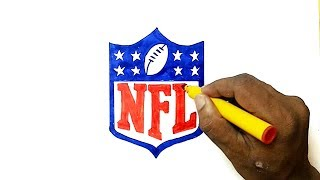 How to Draw the NFL Logo