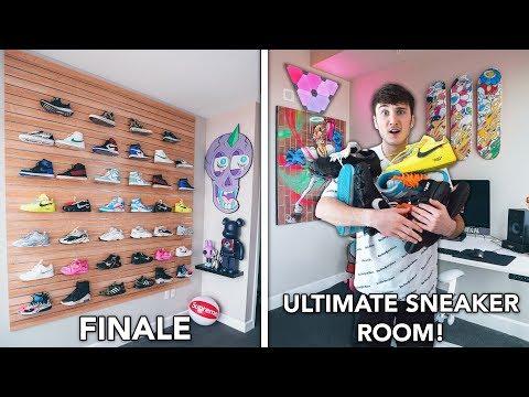 I Built The ULTIMATE Sneaker Room (FINALE!)