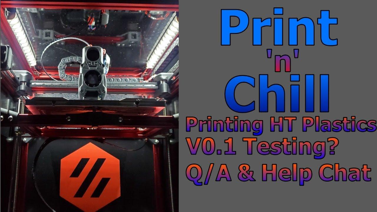 Print n Chill - Variety Stream Saturday