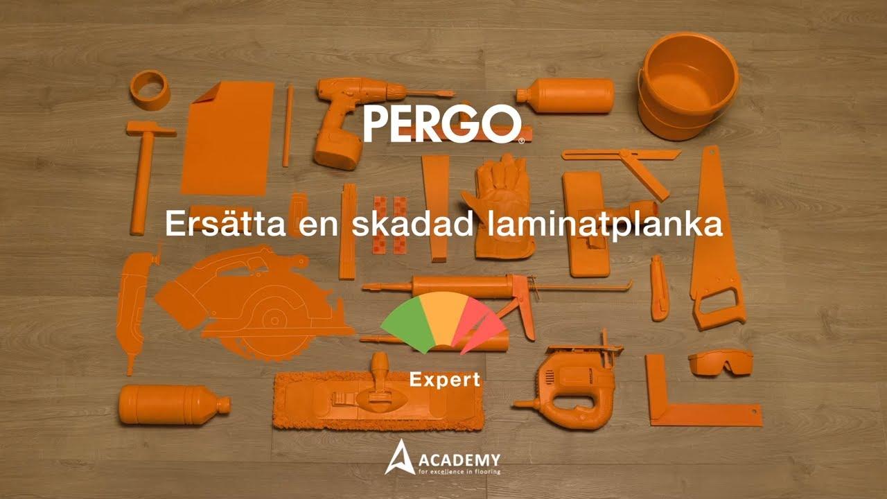 Reparation laminatgolv: ersätta en skadad laminatplanka - YouTube : knarrande golv : Inredning
