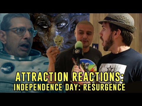 Attraction Reactions: What did audiences think about Independence Day: Resurgence?