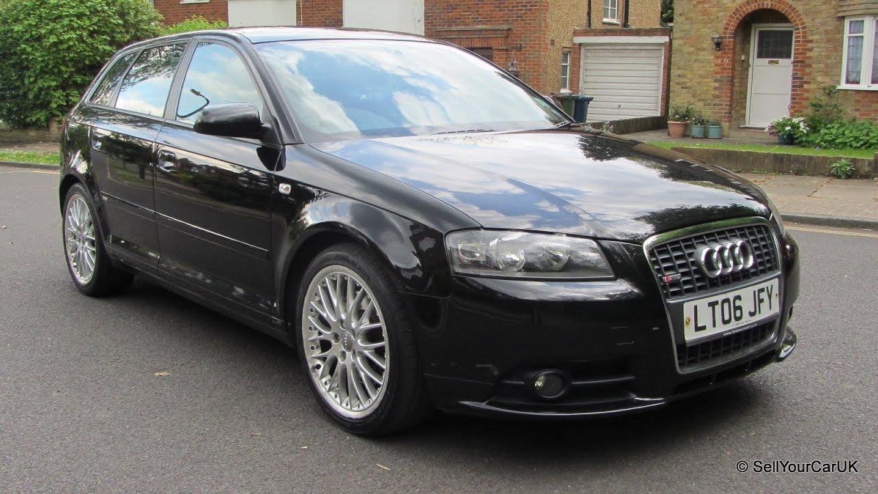 Sold  06 Audi A3 Sportback 20 T Fsi Quattro S Line, Long Mot, Tax, Fsh,  Just Serviced