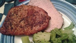 Easy Herbed Pork Loin Roast