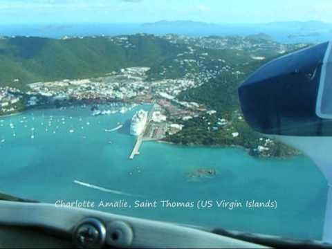 From Charlotte Amalie to San Juan
