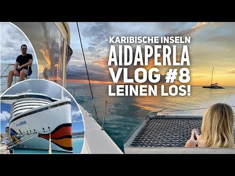 AIDA Vlog #8: Karibische Inseln mit AIDAperla - Yachtausflug vor Barbados