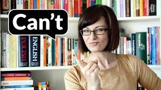 Can't, czyli co? Ja nie mogę? | Po Cudzemu #18