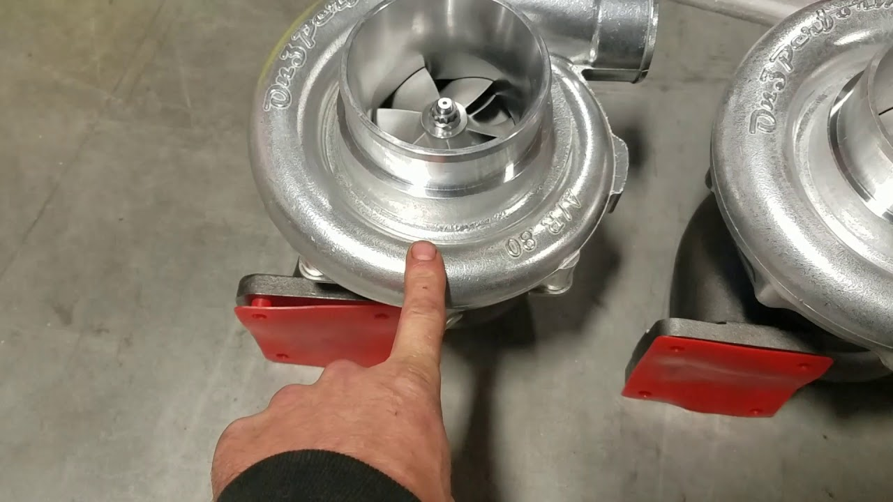 Gearhead rob covers all 3 on3 76mm turbos  The new 7675 bmf