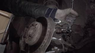 Rover 214i Наконечник рулевой рейки, замена
