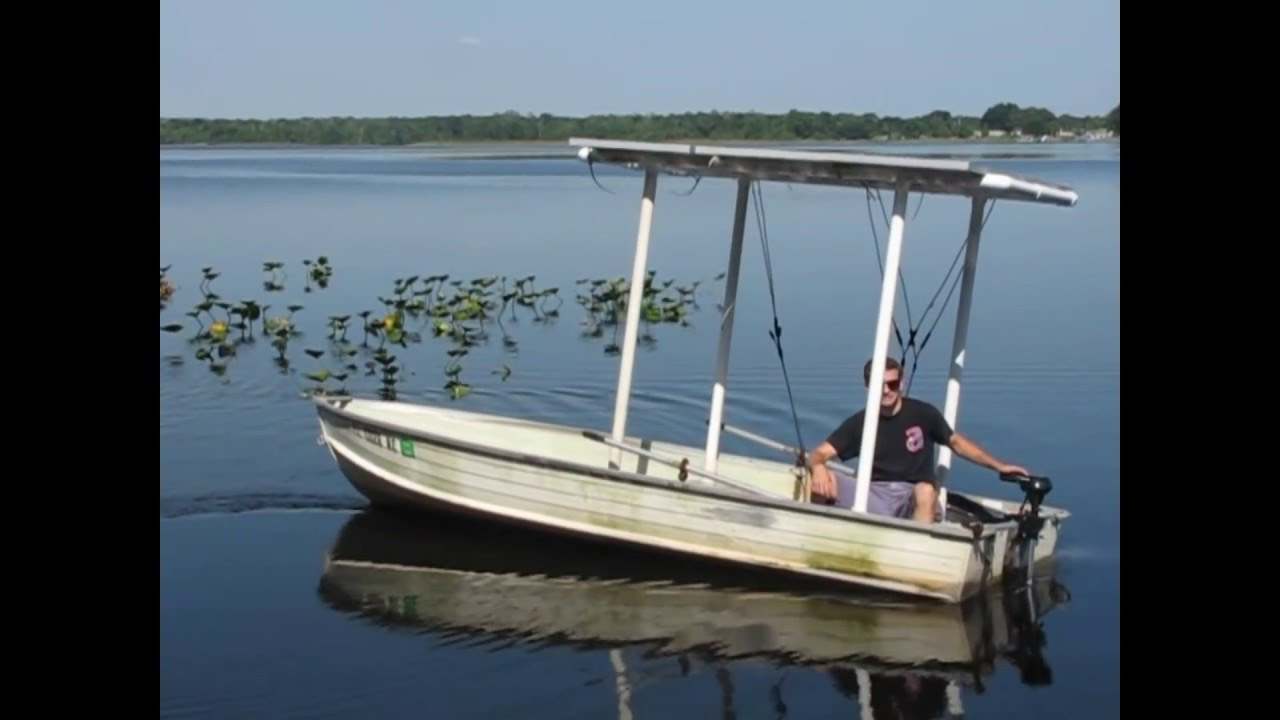 100 Solar Boat Youtube