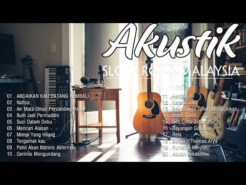 Akustik Slow Rock Malaysia 90an Terbaik - Lagu Slow Rock Melayu - Lagu Terbaik 90an - Akustik Cover