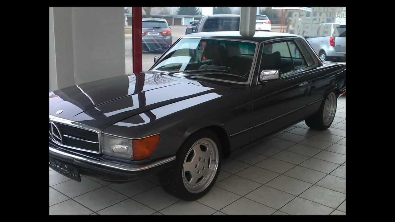 MERCEDES 350 SLC Oldtimer Classic CAR BENZ PKW MB
