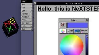 OS X's Grandfather - A Brief Tour of NeXTSTEP - Software Showcase