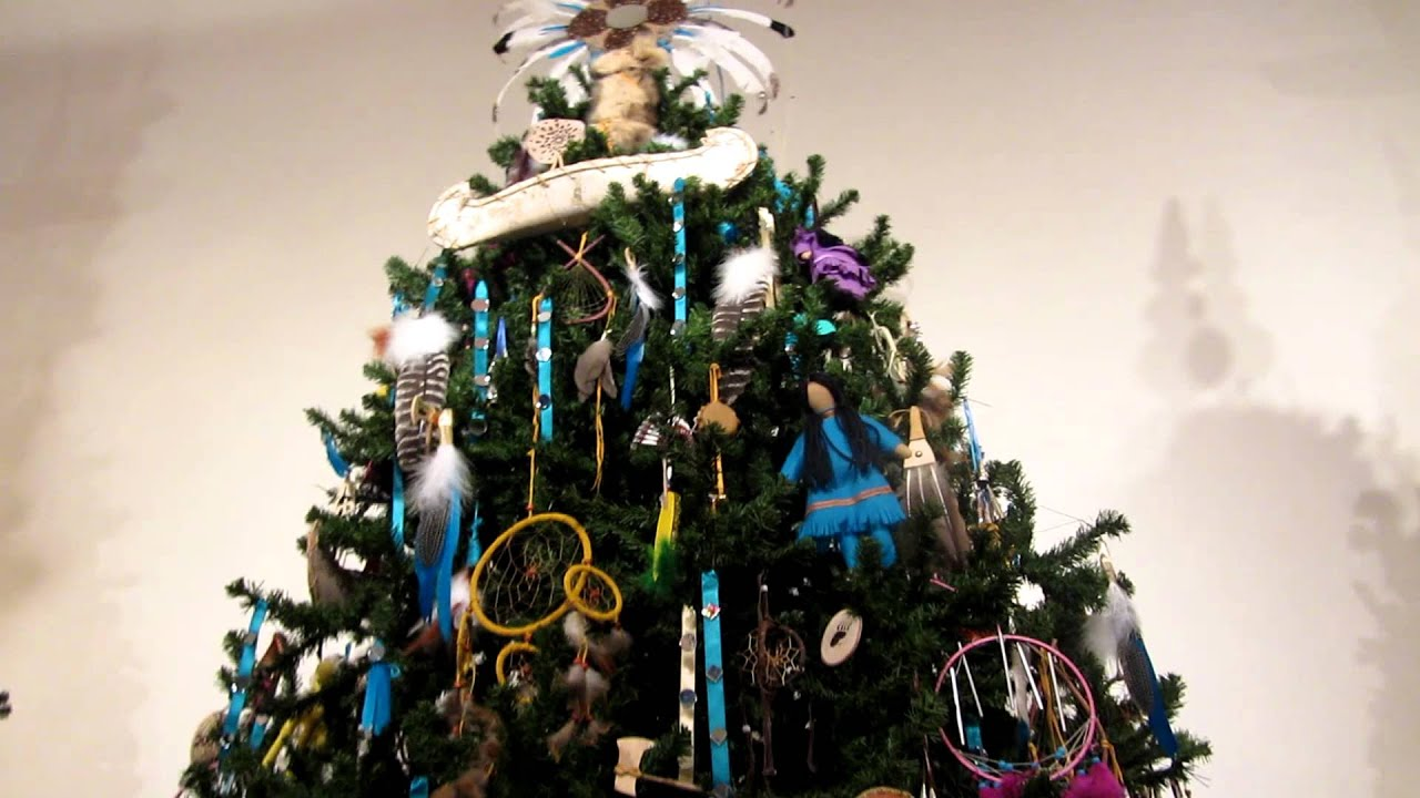 native american christmas tree
