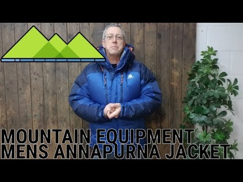 Mountain Equipment Men's Annapurna Jacket Review