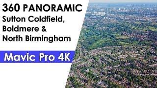 360 Panoramic of Boldmere Sutton Coldfield North Birmingham