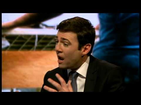 Andy Burnham on Labour plans for NHS & privatisation - Newsnight