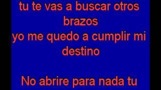 Tu Camino y el Mio - Vicente Fernandez - karaoke Tony Ginzo