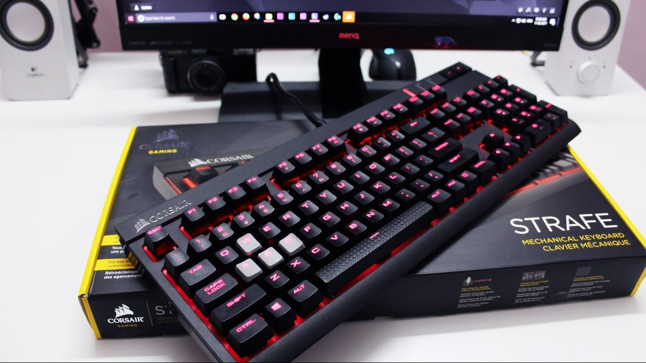 a20fd33d89db07 corsair STRAFE gaming Keyboard full review   Mid range mechanical keyboard