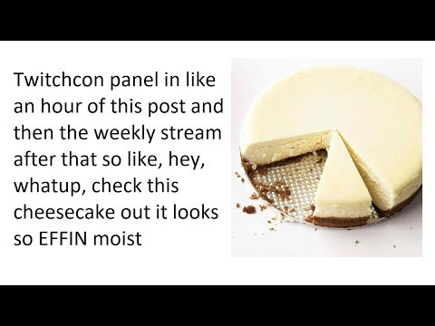 Twitchcon Panel tonight + hot dog pic [Panel in description]