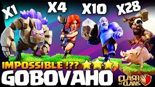 How to GoVaHoBo / GoBoVaHo | TH10 3 Star Attack | TH10 War Strategy Th10 GoHoBo | Th10 Best war COC