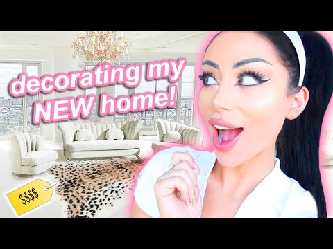 My First Home Decor Shopping Spree!