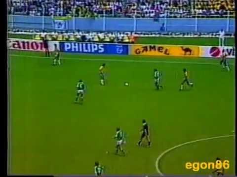 Rede Manchete na Copa de 1986 - Brasil 3x0 Irlanda do Norte