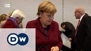 Фракция Меркель воспринимает РФ как угрозу для мира в Европе