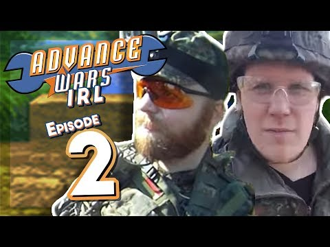 Advance Wars IRL: Airsofting With Mangs & Panzergraf, Episode 2