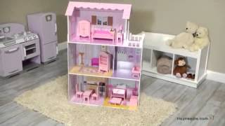 Teamson Kids Fancy Mansion Play House With Furniture - Product Review Video