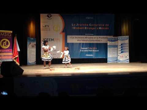 Dança Omboio-Pérola Marrocos Cesam Meknes