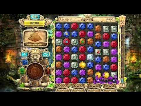ดาวน์โหลดเกมส์ The Treasures of Montezuma 4 เกมส์จับคู่สมบัติอันล้ำค่า DownloadGamePCFree.com