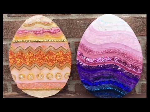 22. DIY Easter Egg Resin Art