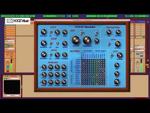 Yooz Modular VST/AU Synth