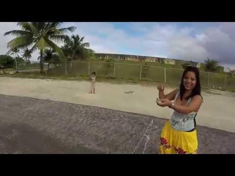Running track, Majuro, Marshall Islands, Berger