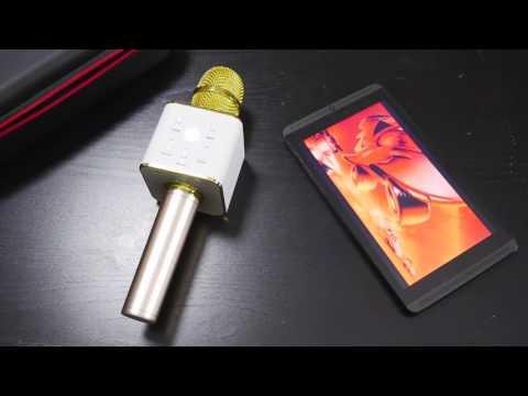 Wireless microphone karaoke bluetooth - Karaoke-Mike Your portable karaoke machine like KTV Q7 Q9