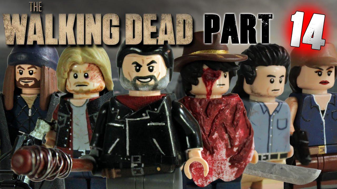 custom lego the walking dead minifigures part 14 youtube. Black Bedroom Furniture Sets. Home Design Ideas