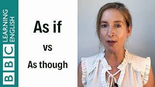 As if vs As though - English In A Minute