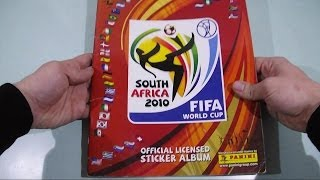 Panini South Africa 2010 Sticker Album FIFA World Cup