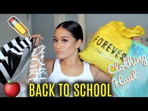 BACK TO SCHOOL CLOTHING HAUL 2017