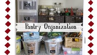 Pantry Organization: How To