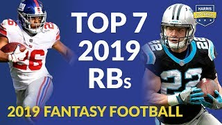 Top 7 RBs Fantasy Football 2019 Including Joe Mixon, Christian McCaffrey, Ezekiel Elliott & More!