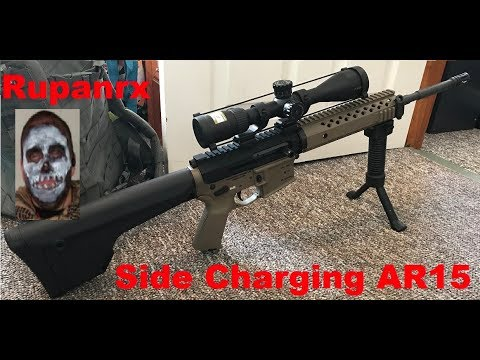 Ar Stoner Side Charging Ar15 Upper First Impressions Youtube