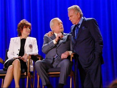 TCM Robert Osborne Tribute clip w/Robert Wagner-Jill St.John-Alex Trebek @ Montalban Theatre 4-11-14
